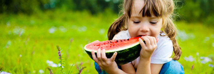 Weight Loss Springfield IL Child Eating Watermelon